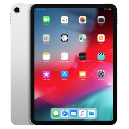 Apple iPad Pro 11 64Gb Wi-Fi+Cellular (Silver / Серебристый)