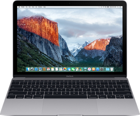 "Apple MacBook Mid 2017 MNYF2 (Intel Core m3 1200 MHz/12""/8Gb/256Gb SSD/Intel HD Graphics 615) (Space Gray"