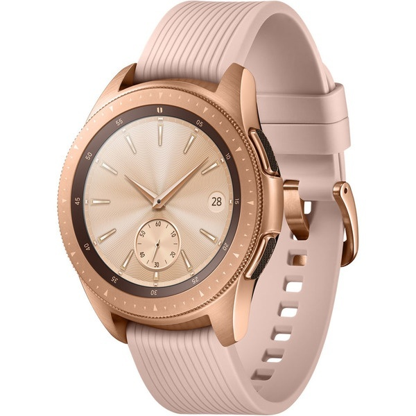 Часы Samsung Galaxy Watch (42 mm) R810 Rose Gold/Pink Beige (Розовые)