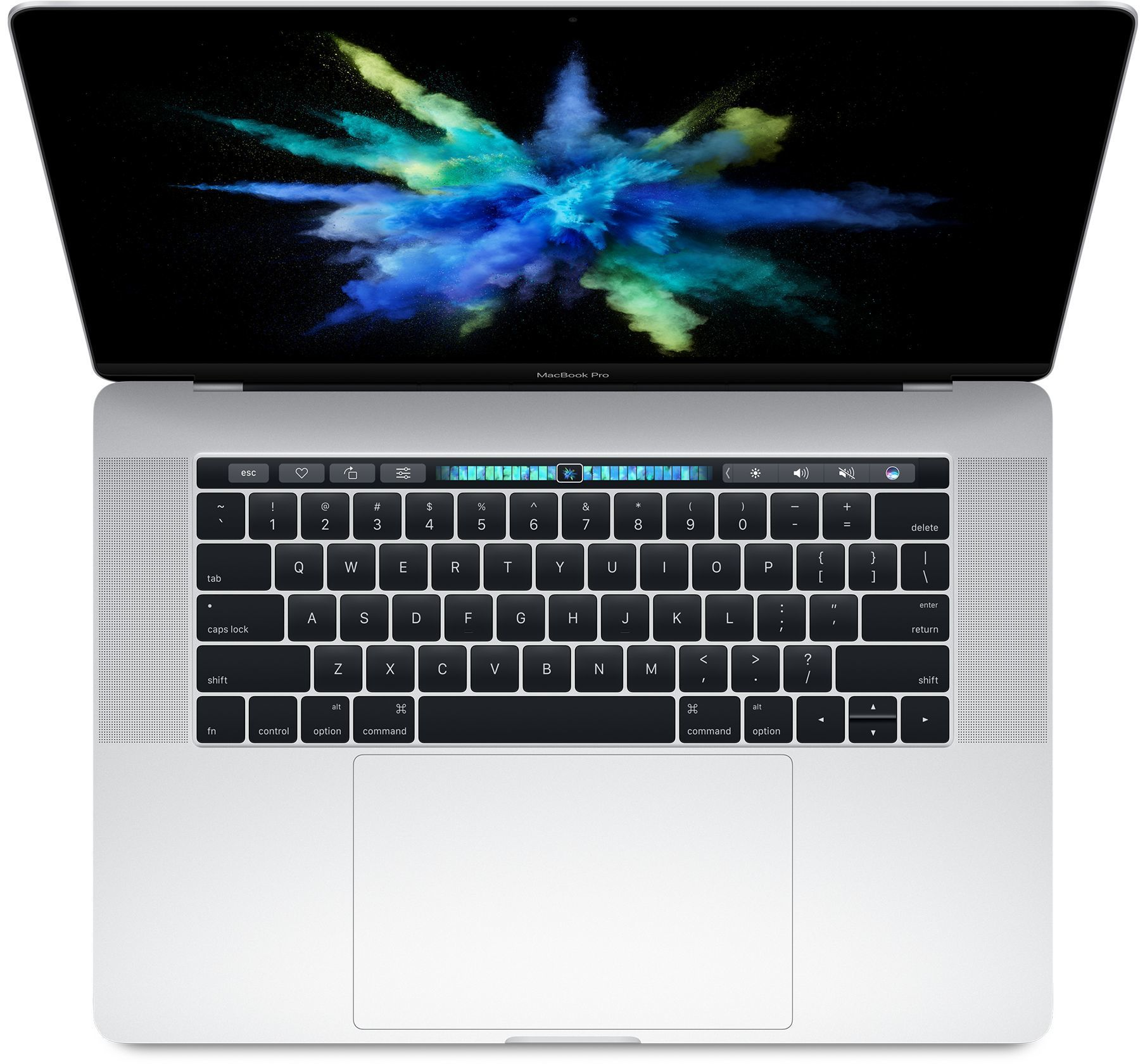 "Apple MacBook Pro 15"" Retina Mid 2017 MPTU2RU/A, Intel Core i7 2.8Ghz, 16Gb, SSD 256Gb, Touch Bar, Silver"