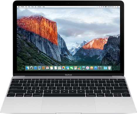 Apple Macbook 12 Retina Mid 2017, Intel Core M3 1,2GHz, 8Gb, 256Gb SSD MNYH2RU/A (Silver)