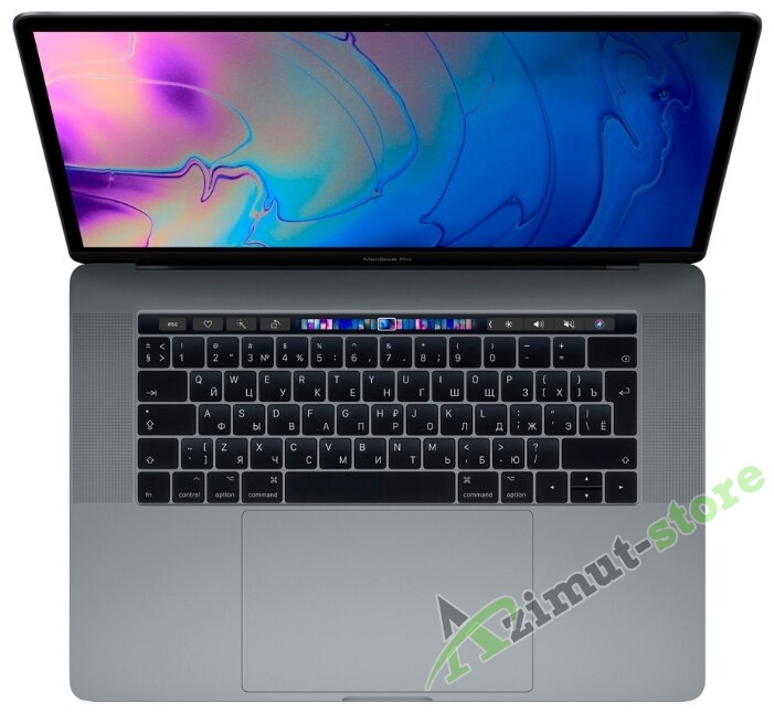 картинка Apple MacBook Pro 13 Touch Bar Mid 2019 MV962 LL/A Space Gray (Intel Core i5 2,4 ГГц (восьмого поколения), SSD 256 ГБ, 8 ГБ) Iris Plus 655 от магазина Azimut-store