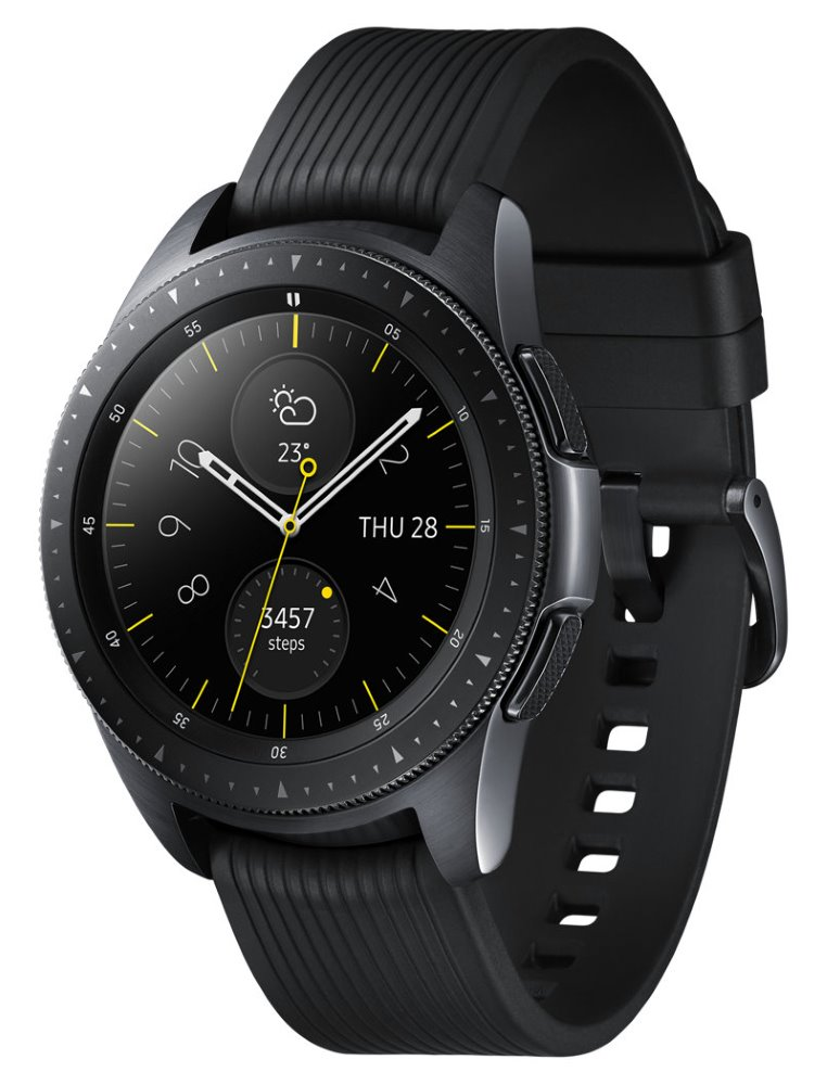 Часы Samsung Galaxy Watch (42 mm) R810 Black (черный)