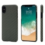 Чехол Pitaka Aramid Case для iPhone X Black/Yellow Twill