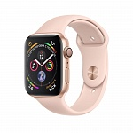 Apple Watch Series 4 GPS 44mm Aluminum Case with Sport Band Золотой/Розовый Песок