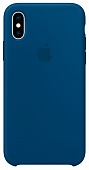 Apple Silicone Case iPhone X/XS Blue Horizon «Морской горизонт»