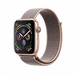 Apple Watch Series 4 GPS 40mm Aluminum Case with Sport Loop Золото/Розовый