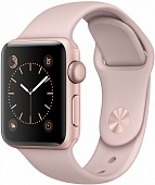 Apple Watch Series 2 38mm Rose Gold Aluminium Case With Pink Sand Sport Band