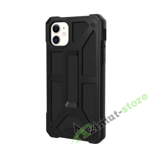 Чехол UAG Monarch Series для iPhone 11 Black (Черный)