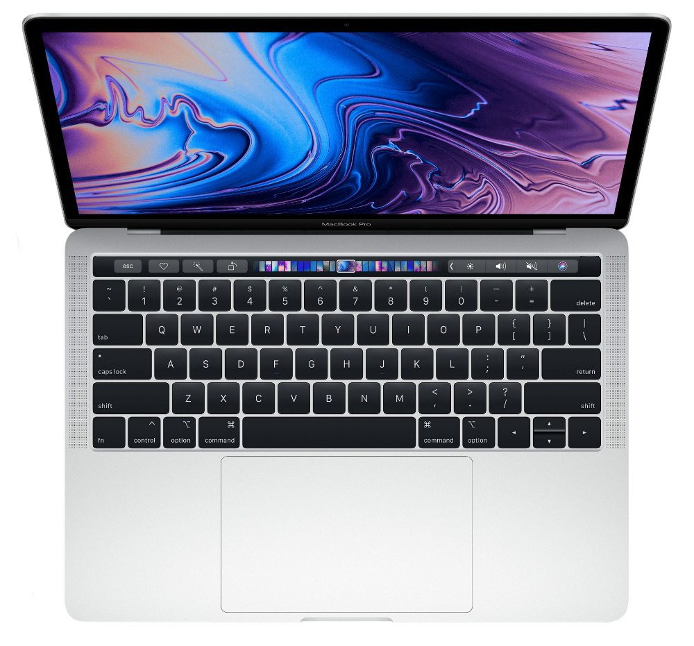 "Ноутбук Apple MacBook Pro 13 with Retina display and Touch Bar Mid 2018 MR9V2LL/A (Intel Core i5 2300 MHz/13.3""/2560x1600/8GB/512GB SSD/DVD нет/Intel Iris Plus Graphics 655/Wi-Fi/Bluetooth/macOS) Silver (Серебристый)"