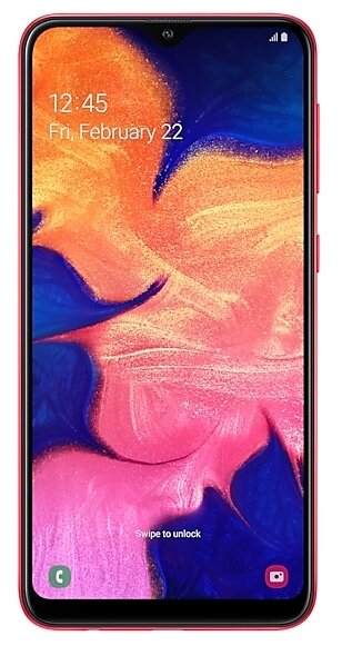 Samsung Galaxy A10 SM-A105F 32GB Red (Красный) RU/A