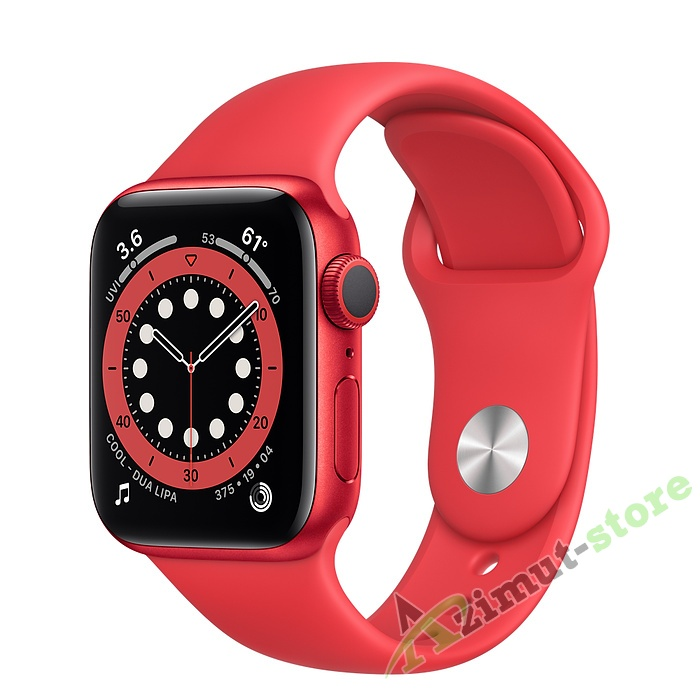 Apple Watch Series 6 44mm (PRODUCT)RED Aluminum Case with (PRODUCT)RED Sport Band