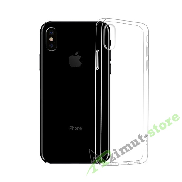 Прозрачный чехол Hoco Premium Light Series Case для iPhone X/XS