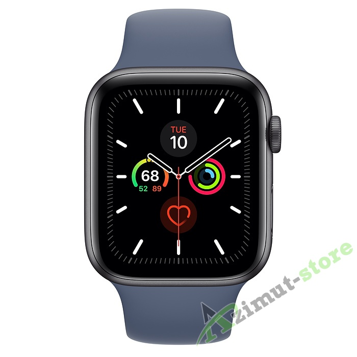 Apple Watch Series 5 GPS 44mm Aluminum Case with Sport Band Серый космос/Морской лёд