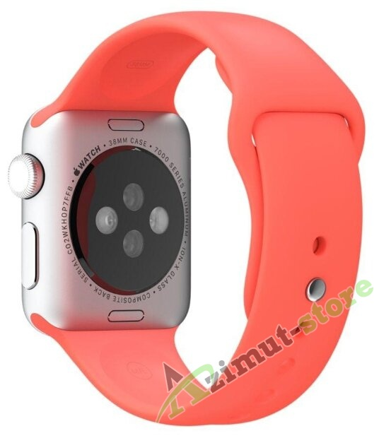 Mokka Sport Band Apricot (Оранжевый) for Apple Watch (Series 1/2/3/4) 42mm/44mm