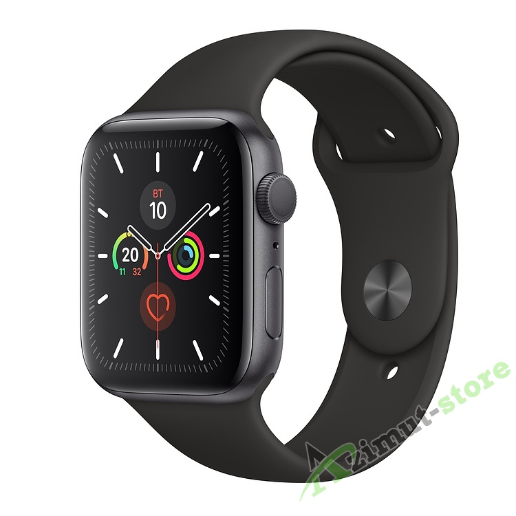 Apple Watch Series 5 GPS 44mm Aluminum Case with Sport Band Серый космос/Чёрный