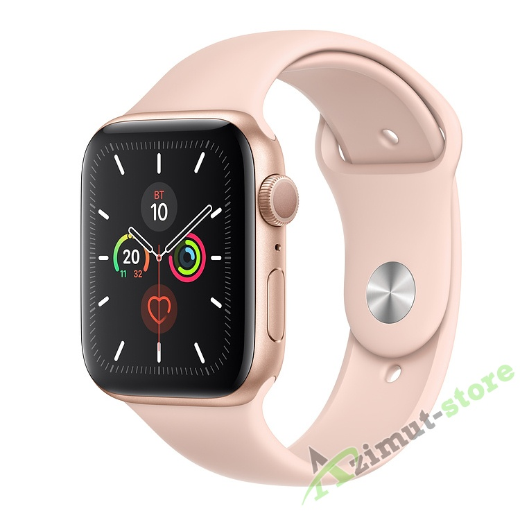 Apple Watch Series 5 GPS 40mm Aluminum Case with Sport Band Золотистый/Розовый песок