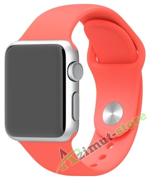 Mokka Sport Band Apricot (Оранжевый) for Apple Watch (Series 1/2/3/4) 38mm/40mm