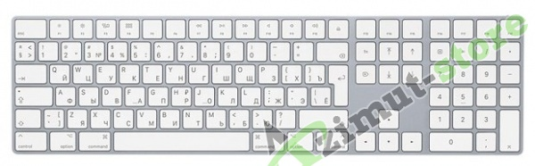 Apple Magic Keyboard with Numeric Keypad Silver Bluetooth MQ052RS/A