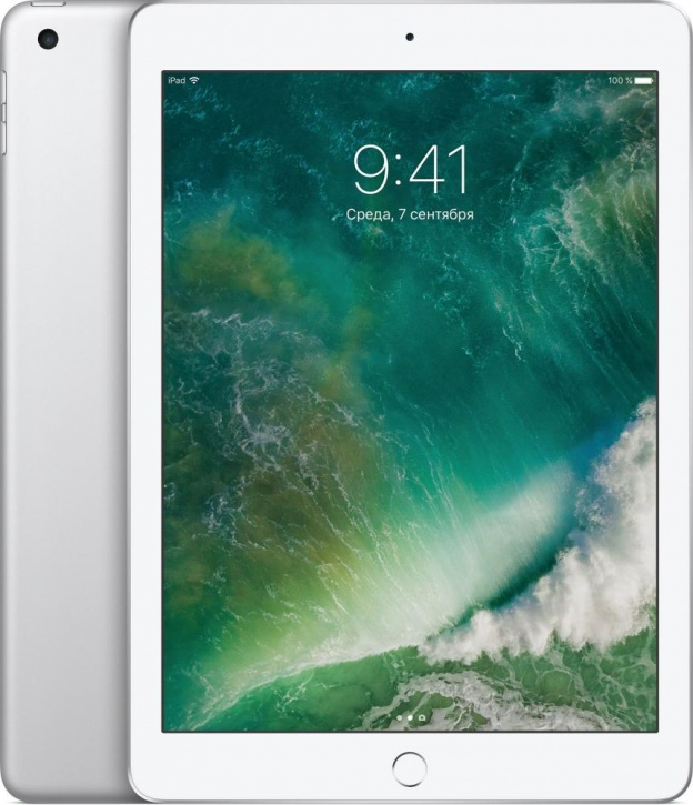 Apple iPad 128Gb Wi-Fi (Silver)