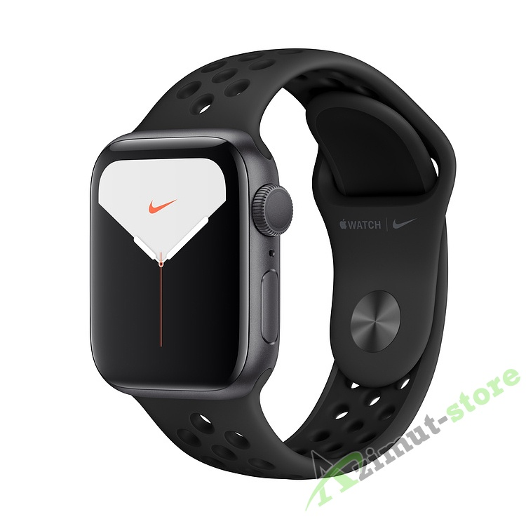 Apple Watch Series 5 Nike+ GPS 40mm Aluminum Case with Nike Sport Band Серый космос/Антрацит