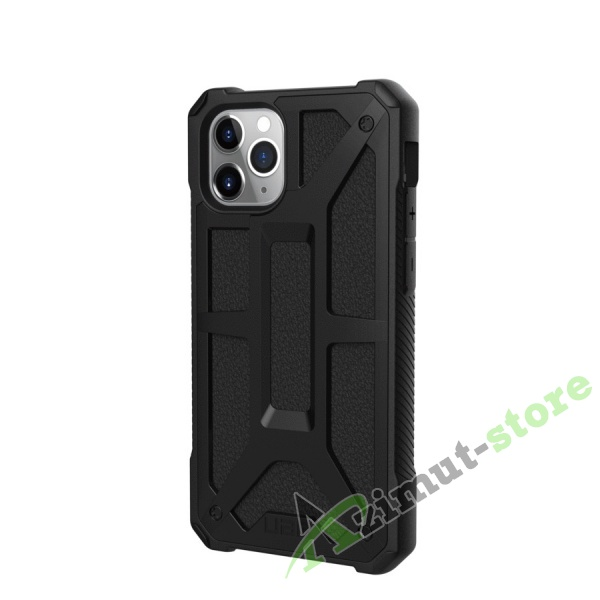 Чехол UAG Monarch Series для iPhone 11 Pro Black (Черный)