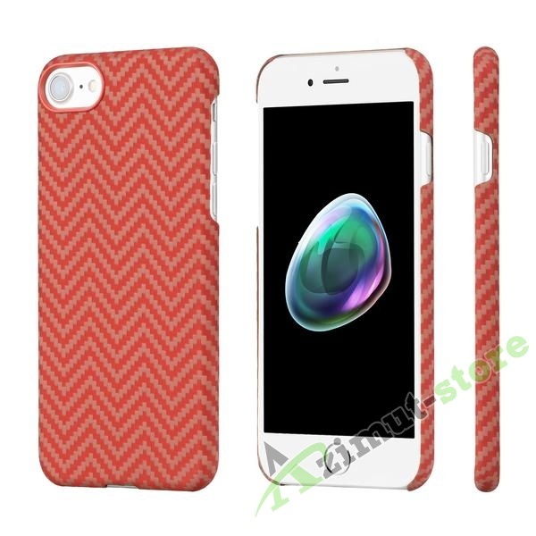 Чехол Pitaka Aramid Case для iPhone 7/8 Red/Orange