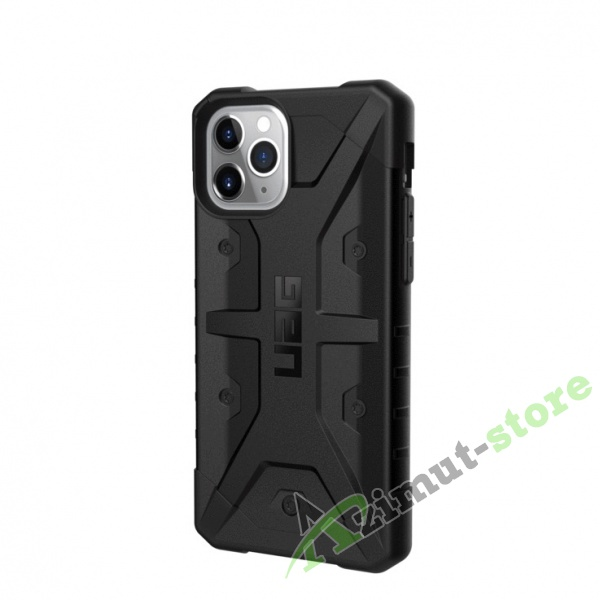 Чехол UAG Pathfinder Series для iPhone 11 Pro Black (Черный)