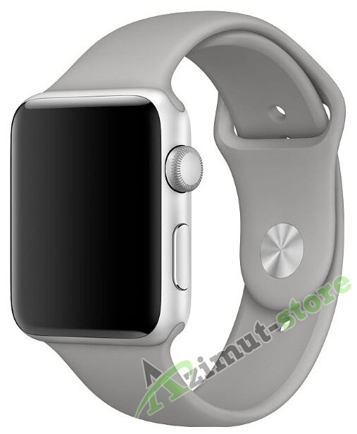 Mokka Sport Band Gray (Серый) for Apple Watch (Series 1/2/3/4) 38mm/40mm