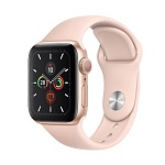 Apple Watch Series 5 GPS 44mm Aluminum Case with Sport Band Золотистый/Розовый песок