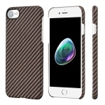 Pitaka Aramid MagEZ Case For iPhone 7/8 Black/Gold Twill