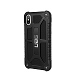 Чехол UAG Monarch Series для iPhone X/XS Black (Черный)