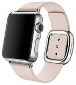 Leather Modern Buckle Soft Pink (Розовый) for Apple Watch (Series 1/2/3/4) 38mm/40mm