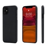 Pitaka Aramid MagEZ Case For iPhone 11 Black/Grey (Twill)
