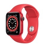 Apple Watch Series 6 40mm (PRODUCT)RED Aluminum Case with (PRODUCT)RED Sport Band