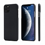 Pitaka Aramid MagEZ Case For iPhone 11 Pro Black/Grey (Twill)