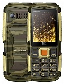 Мобильный телефон BQ Mobile BQ-2430 Tank Power Camouflage/Gold RU/A