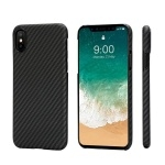 Чехол Pitaka Aramid Case для iPhone X Black/Grey Twill