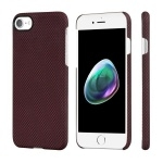 Чехол Pitaka Aramid Case для iPhone 7/8 Black/Red plain