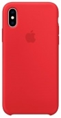 Apple Silicone Case iPhone X/XS Product Red (Красный)